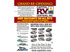 Capital RV Grand Re-Opening!