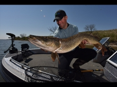 If You Want to Catch Pike, Devils Lake is the Place!